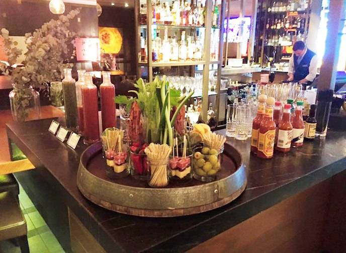 Custom Bloody Mary Bar