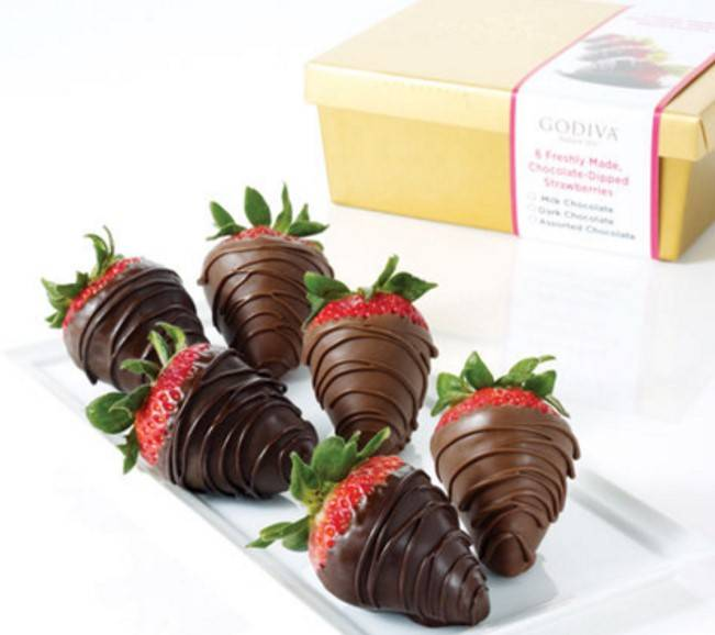 GODIVA Strawberries