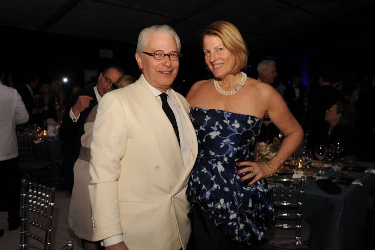 Gala Chairs Edward Shumsky & Sue Kronick at Miami City Ballet's 30th Anniversary Gala