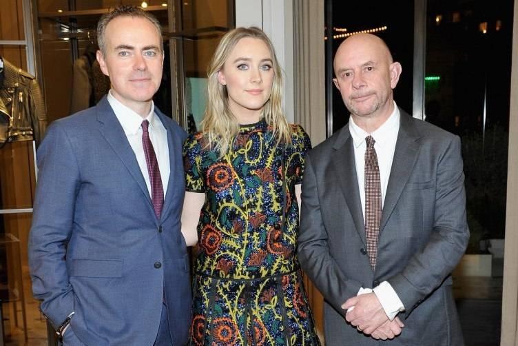 John Crowley, Saoirse Ronan and Nick Hornby