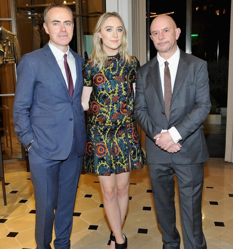 John Crowley, Saoirse Ronan and Nick Hornby