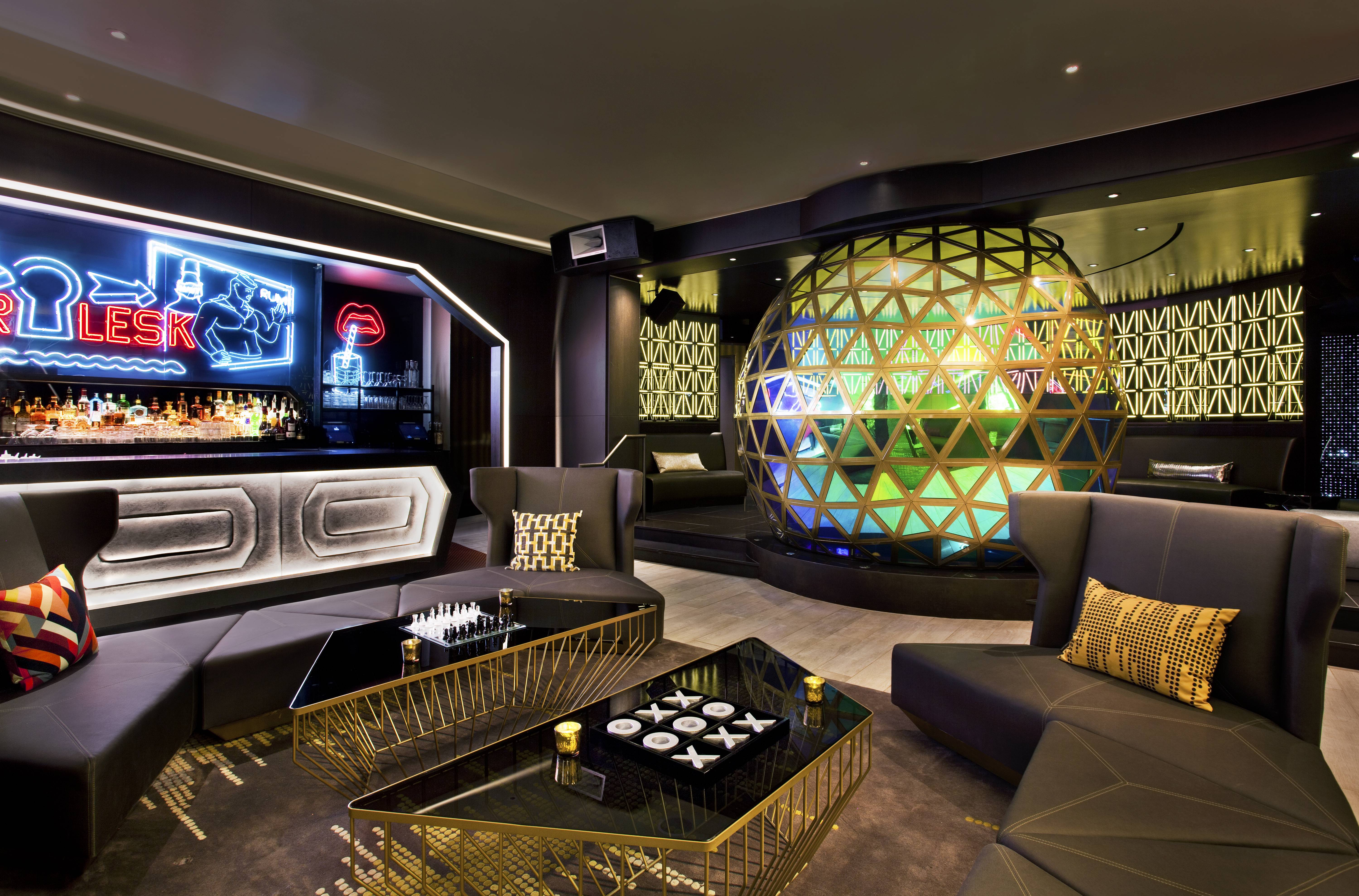Lounge Living Room Why You Need To See The W Times Square 10 Million Renovation