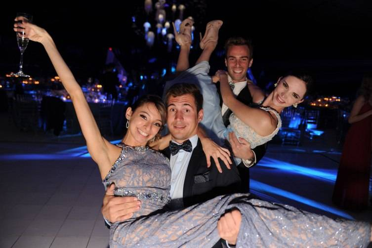 MCB Dancers Nathalia Arja, Rainer Krenstetter and Jordan-Elizabeth Long at MCB's 30th Anniversary Gala