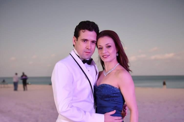 MCB Principal Dancers Carlos Miguel Guerra and Jennifer Carlynn Kronenberg at MCB's 30th Anniversary Gala