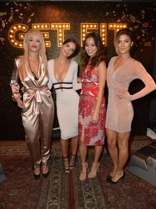 Rita Ora, Emily Ratajkowski, Jamie Chung, Jessica Szohr