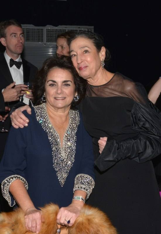 Margarita Codina and Michele Oka Doner at the MCB 30th Anniversary Gala