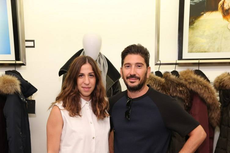 Elisa Dahan and Eran Elfassy, Co-Creative Directors and Co-Founders of Mackage.