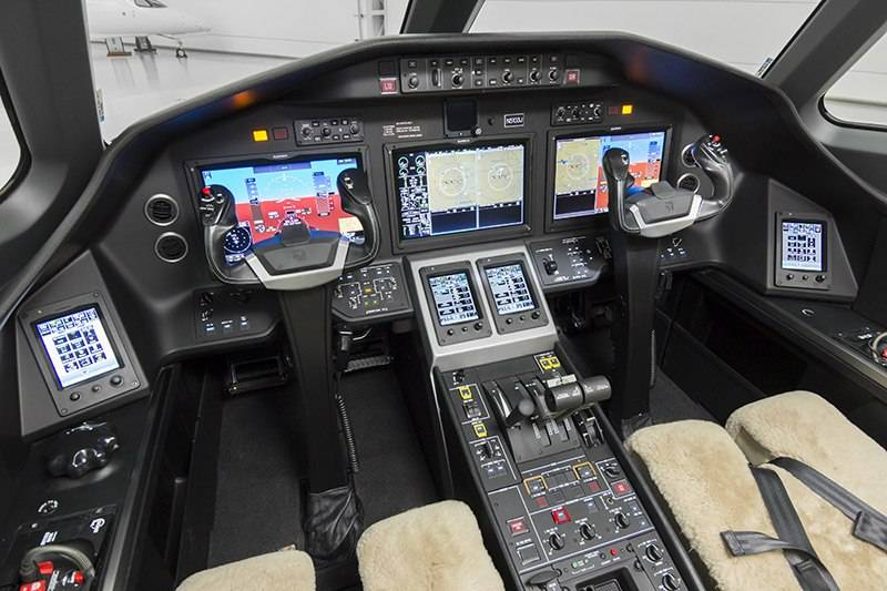 Nicholas Air Citation Latitude Cockpit