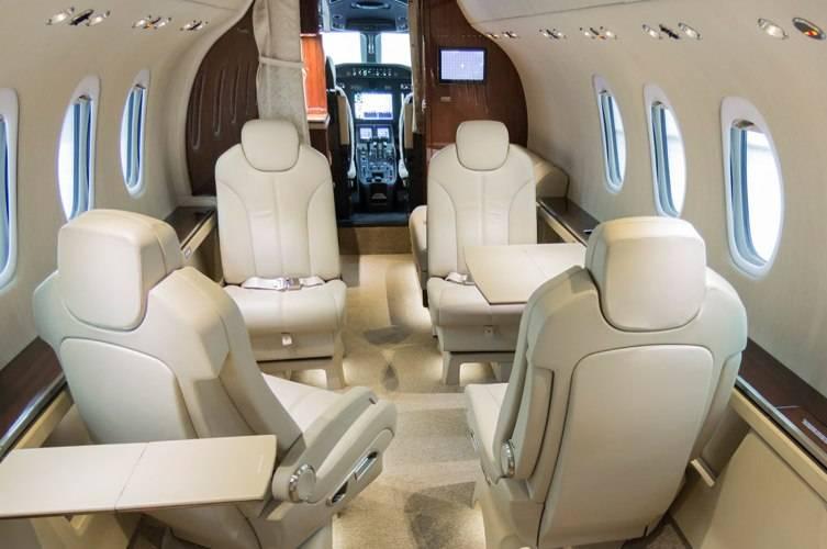 Nicolas Air Citation Latitude Interior Cockpit