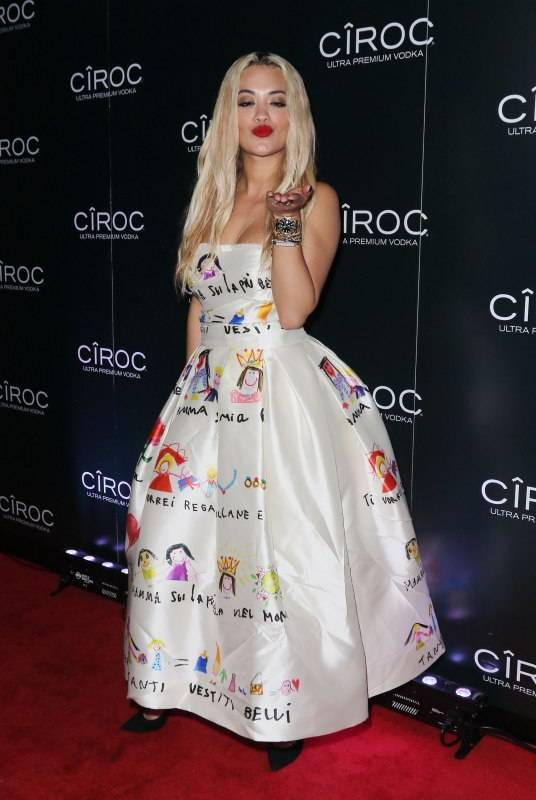 MIAMI, FL - DECEMBER 31: Rita Ora attends theCIROC APPLE at Sean 'Diddy' Combs andCIROC Ultra-Premium Vodka New Year's Eve Party On Star Island in Miami, FL on December 31, 2015 at Star Island on December 31, 2015 in Miami, Florida. (Photo by John Parra/Getty Images for CIROC)
