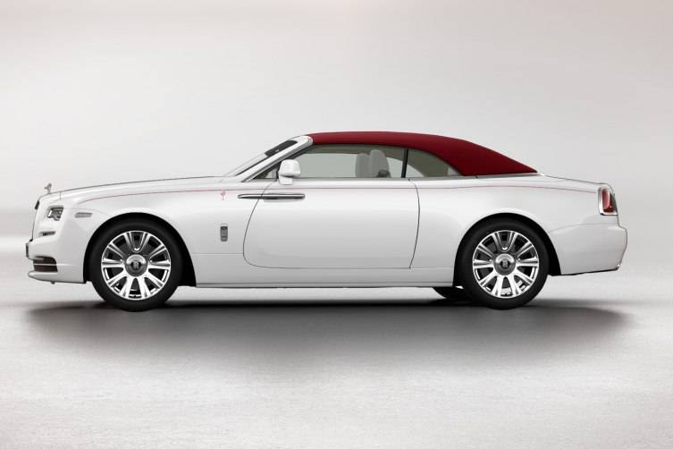 Rolls-Royce Dawn for Naples Wine Festival