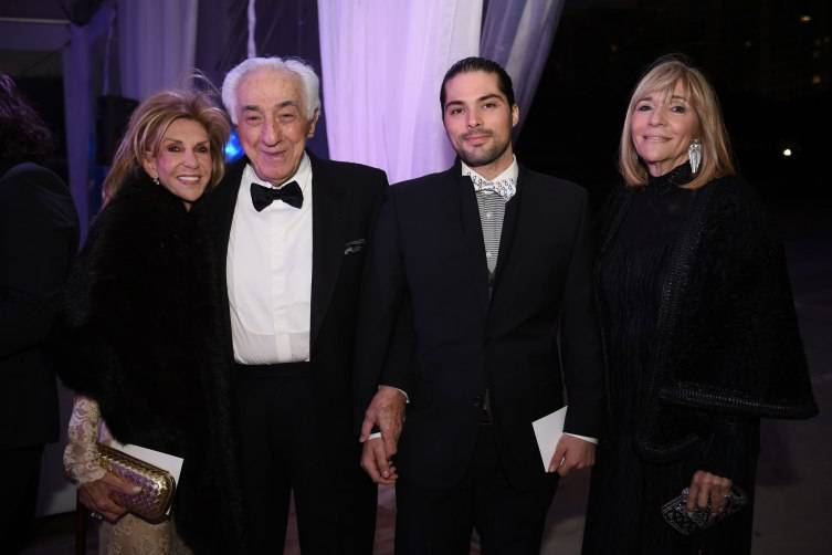 Roni, Sam & Michael Jacobson, & Diane Paizen at MCB's 30th ANniversary Gala
