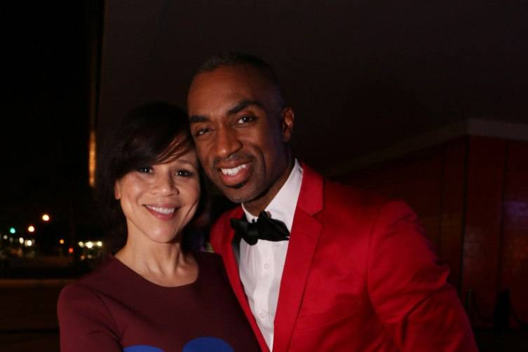 Rosie Perez & Desmond Richardson