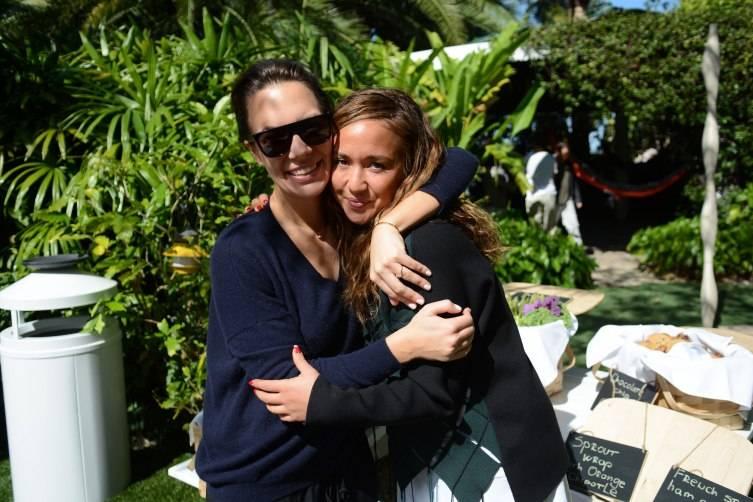 Sarah Cristobal & Nicole Winhoffer