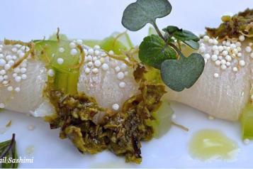 Yellowtail Sashimi – Ysabel – Haute Living