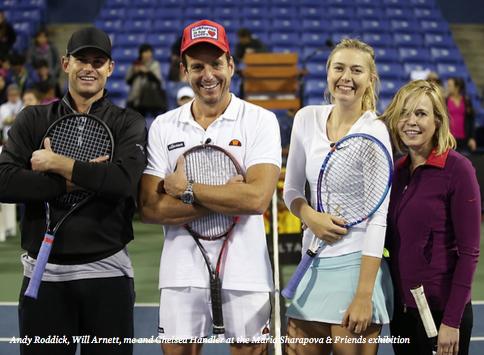 Maria Sharapova & Friends