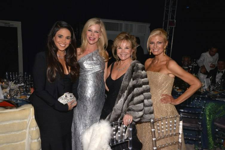 Stephanie Sayfie Aagaard, Bronwyn Miller, Swanee DiMare & Lesli Brown at the MCB 30th Anniversary Gala