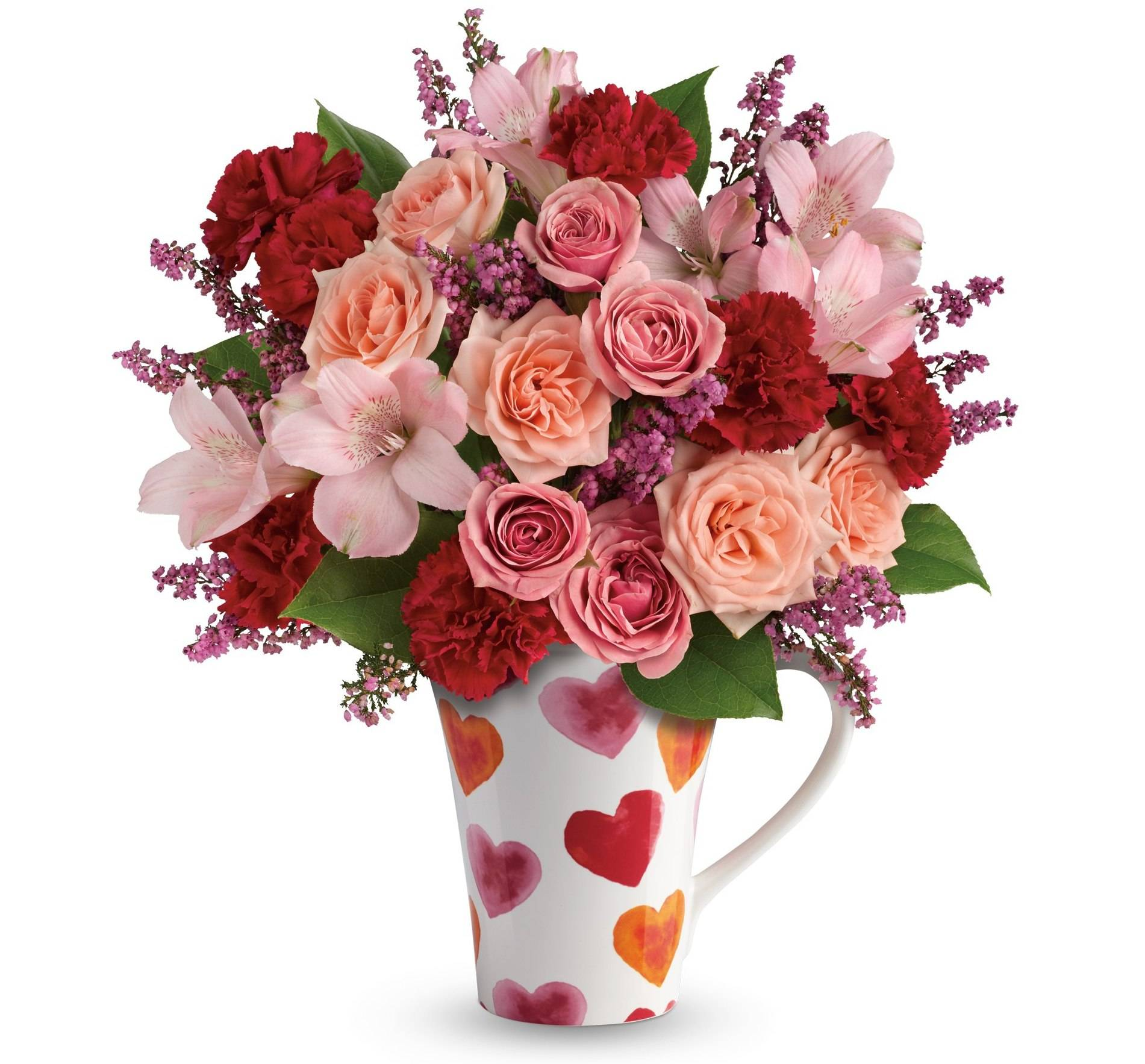 Give the gift of spring with telefloras luxury bouquets telefloras lovely hearts bouquet teleflora lovely hearts bouquet izmirmasajfo