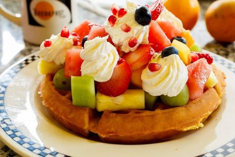 The Princess - Belgian Waffle