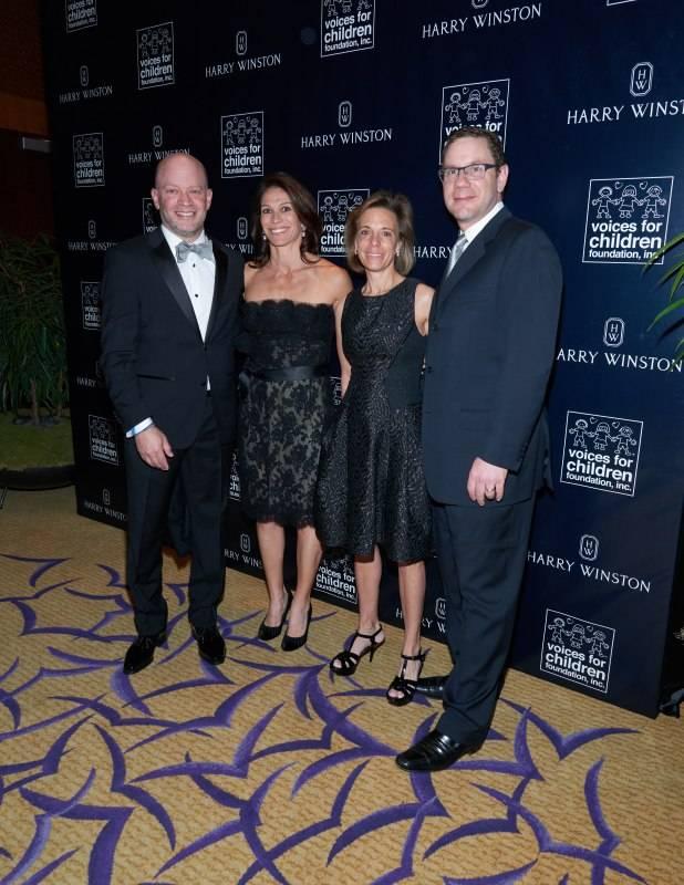 Rick & Monica Schatz, Suzanne & Brad Meltzer
