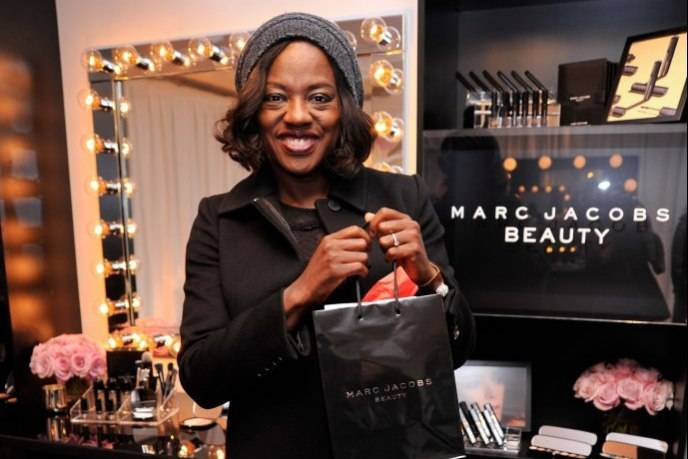 Viola Davis attends the HBO Luxury Lounge at the Four Seasons Hotel Los Angeles at Beverly Hills on January 9