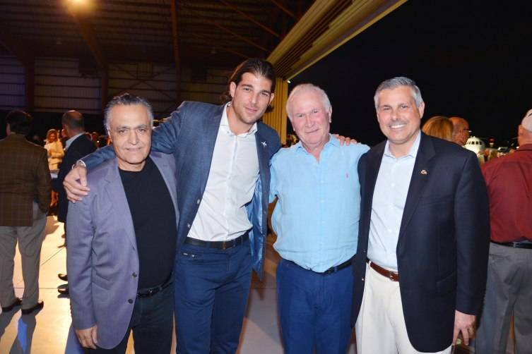 Yair Levy, Jay Safier, Serge Hoyda, Don Haloburdo at Jet Aviation's 16th Annual La Bella Macchina== Palm Beach International Airport, West Palm Beach, FL ©Patrick McMullan Photo – Patrick McMullan/PMC