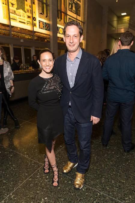 Becca Prowda and Daniel Lurie