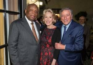 Willie Brown, Charlotte Shultz, Tony Bennett