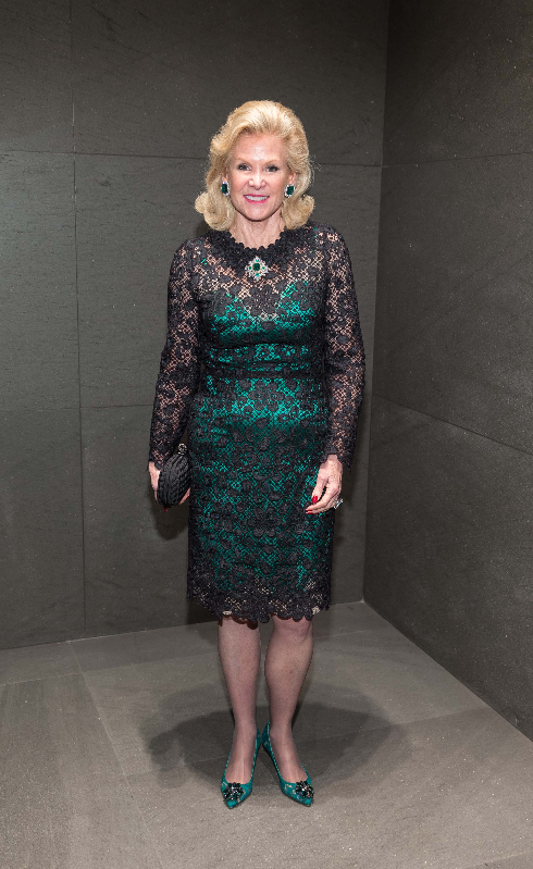 Dede Wilsey attends the D&G boutique opening party.