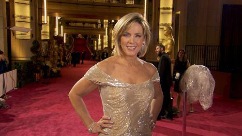 Deborah Norville wears Rene Ruiz on the Red Carpet