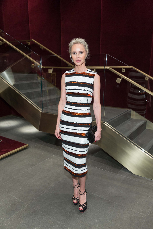 Vanessa Getty attends the D&G boutique opening party.