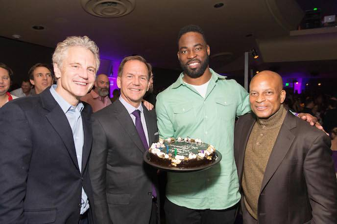 The Super Bowl Chairman's Party