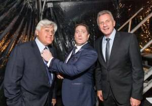 Jay Leno, Liam Mayclem, Joe Montana