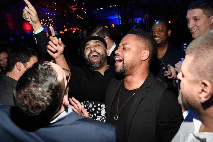 The Playboy Party during Super Bowl Weekend - Inside