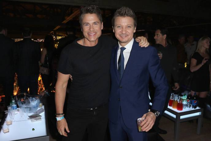 Rob Lowe and Jeremy Renner