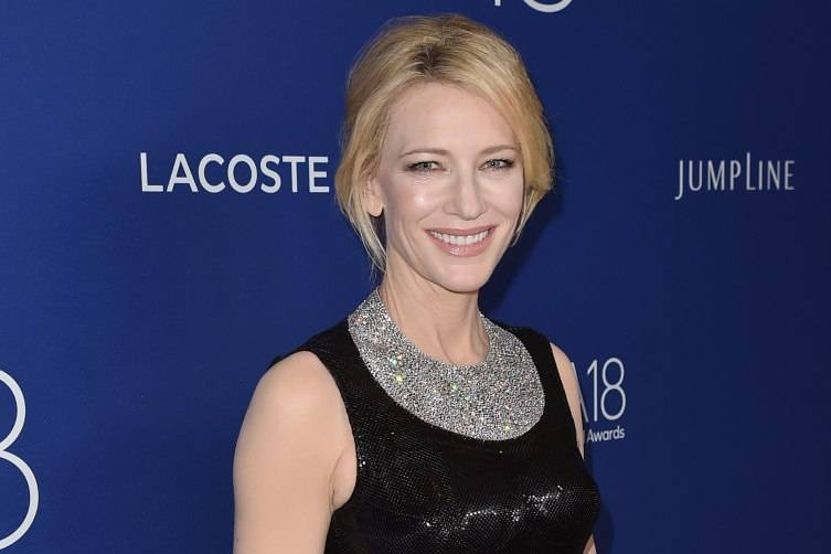Honoree Cate Blanchett attends the 18th Costume Designers Guild Awards