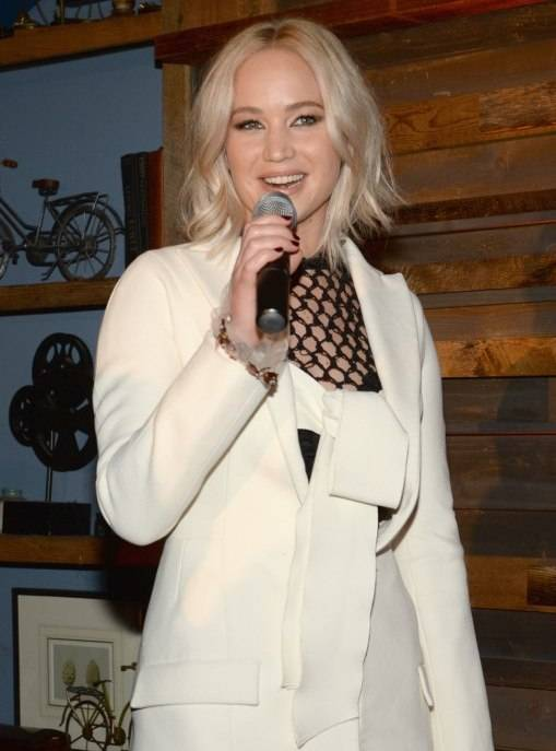 Jennifer Lawrence attends Ninth Annual Women In Film Pre-Oscar Cocktail Party