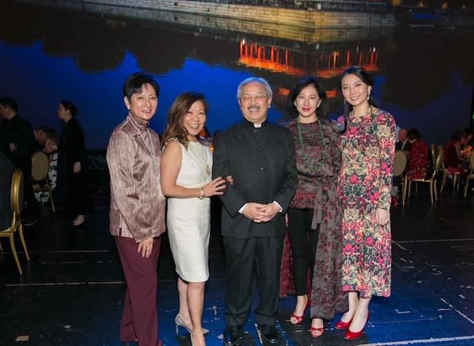 Doreen Ho, Nanci Nishimura, Mayor Ed Lee, Gorretti Lui and Pureum Jo