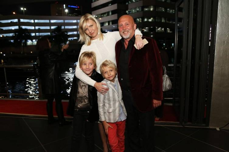 Anetta Nowosielska, Stephane Dupoux and family