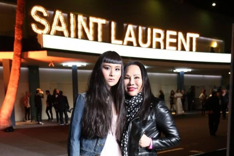 Saint Laurent in Los Angeles 11