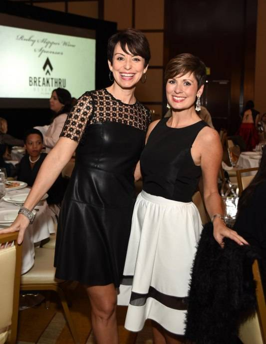 Belkys Nerey and Maggie Rodriguez, WWS Miami Emcee