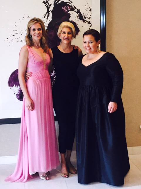 Blye Faust, Karen Caldwell and Nicole Rocklin