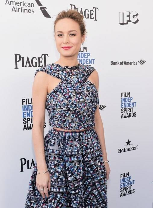 Brie Larson attends the 2016 Film Independent Spirit Awards sponsored by Piaget