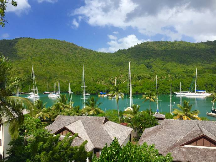 Capella Marigot Bay views