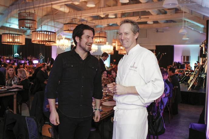 Matt Nathanson and Chef Brandon Sharp