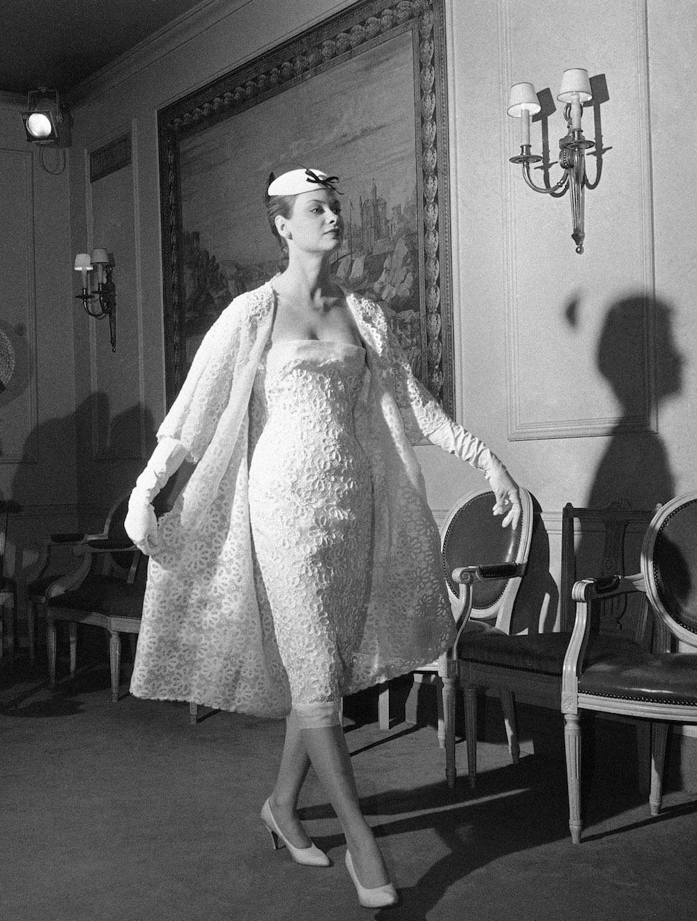 Christian Dior 1958 via Mashable