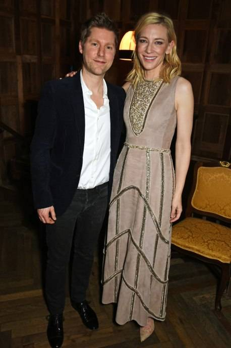 Christopher Bailey and Cate Blanchett