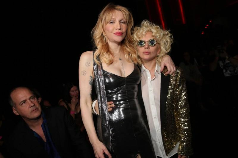 Courtney Love & Lady Gaga