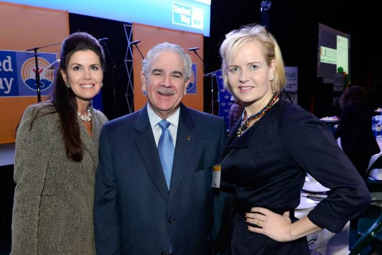 Darlene Boytell-Perez, Women's Leadership Breakfast chair, Harve A. Mogul, president and CEO, United Way of Miami-Dade and Kara Ross