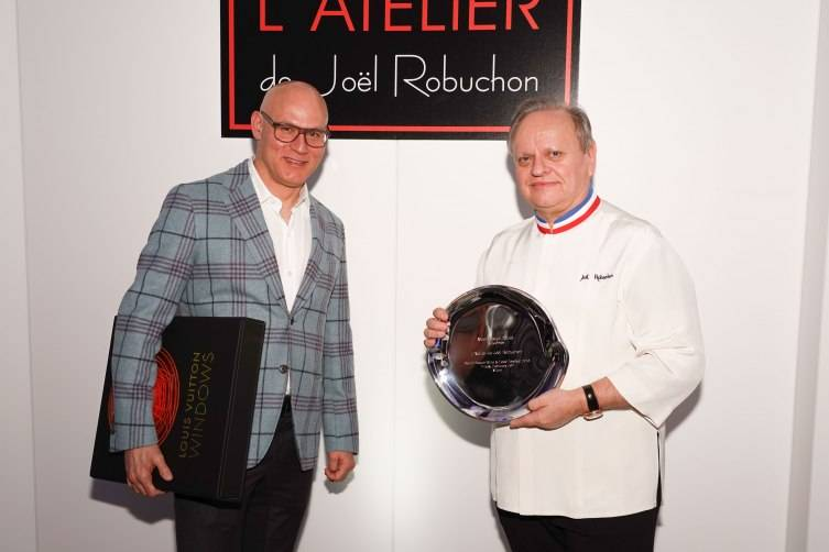 Craig Robins and Joël Robuchon